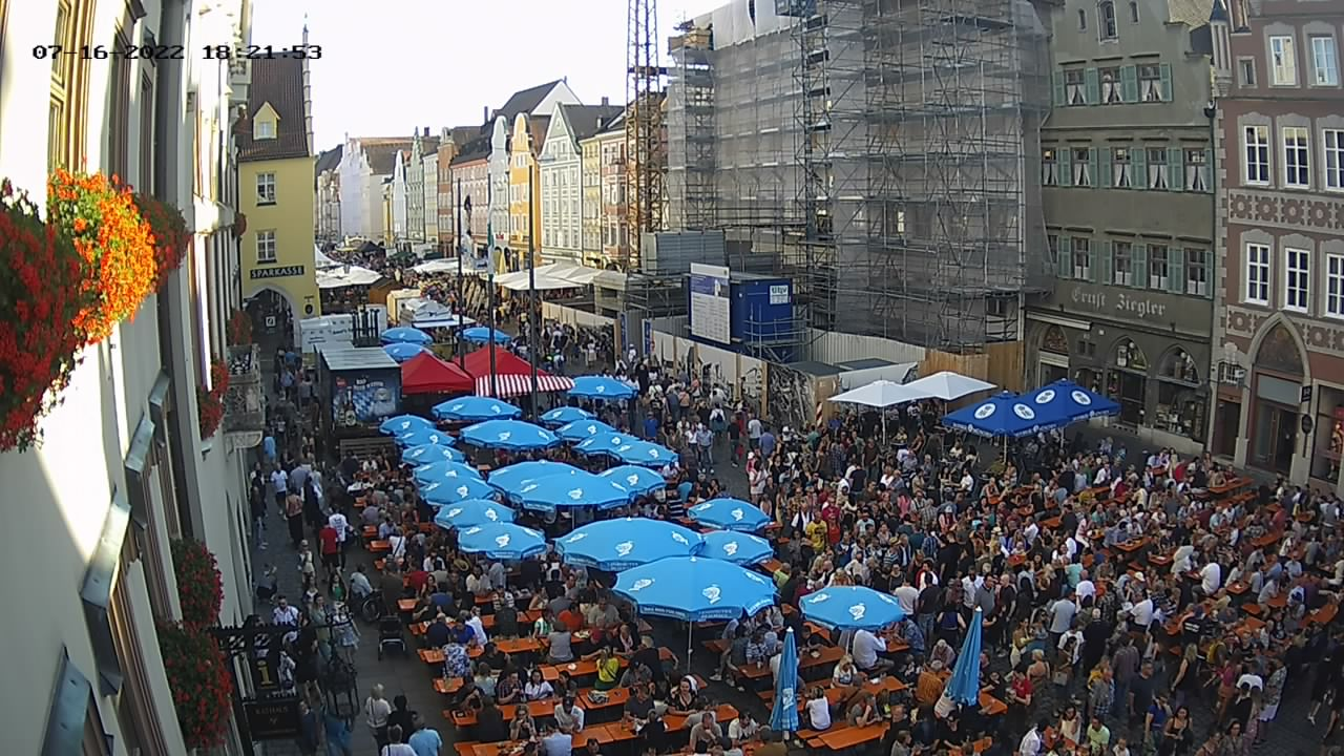 Webcam Landshut Altstadt